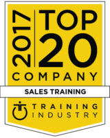 Training Industry | 2017 Top 20 Company | Sales Training